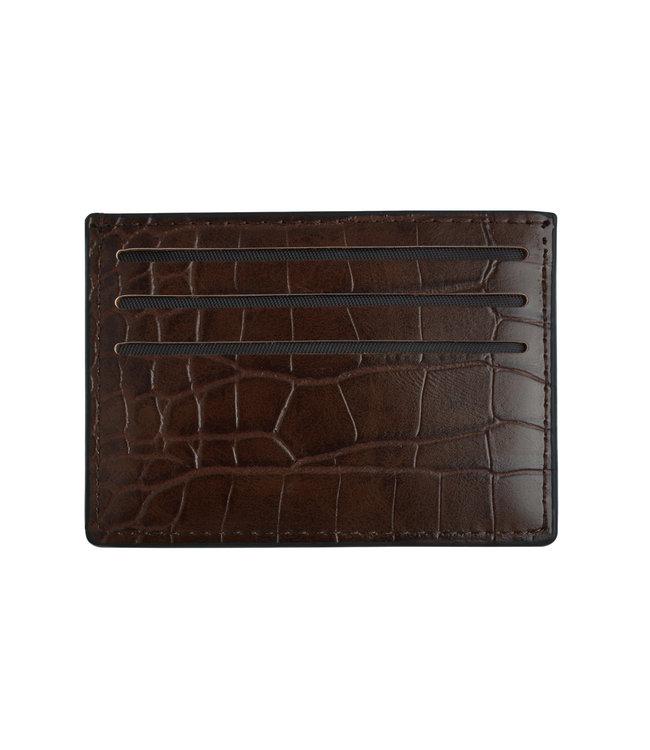 Croc Life Cardholder / Brown