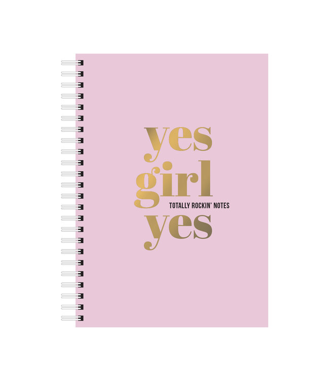 Yes Girl Yes Notebook
