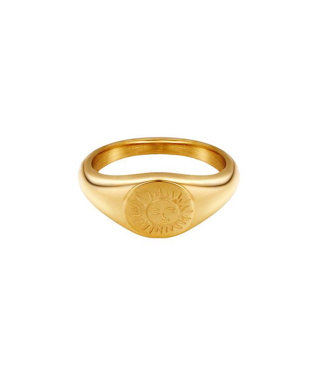 Smiling Sun Ring