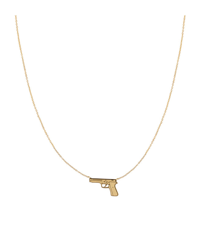 Gold Dress to Kill Necklace