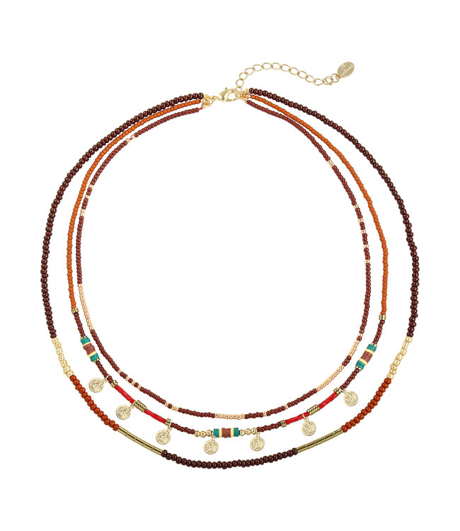 Layers of Beads Necklace