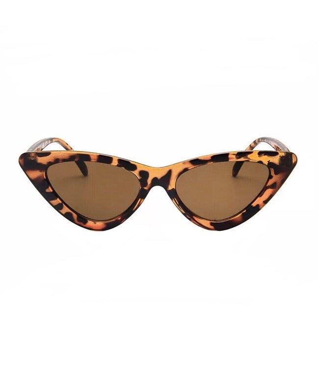 Gigi Cateye Sunglasses / Brown