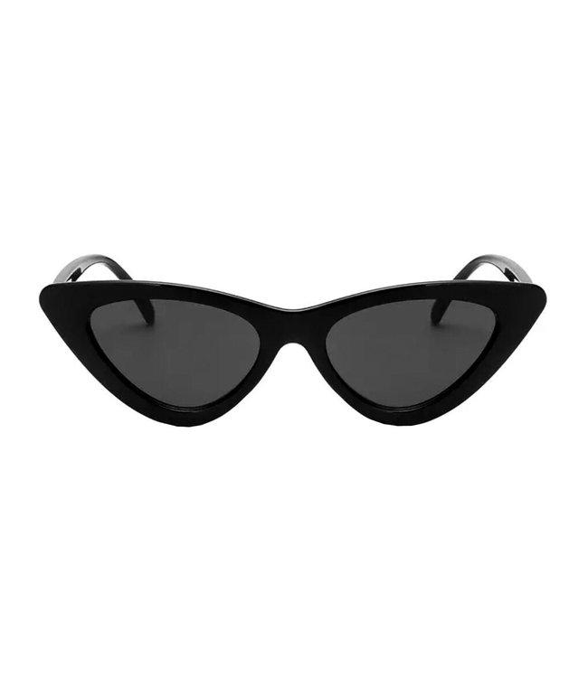 Gigi Cateye Sunglasses / Black