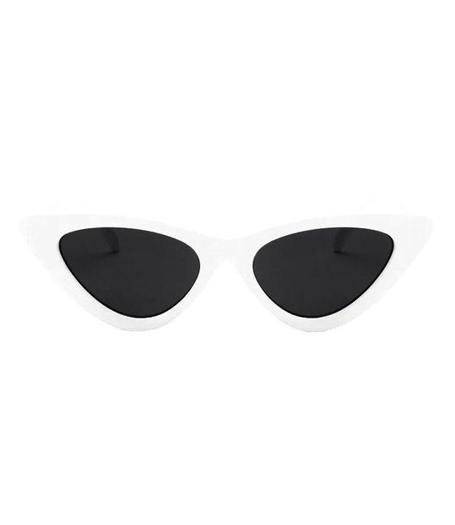 Gigi Cateye Sunglasses / White