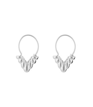 Pattern V Earrings