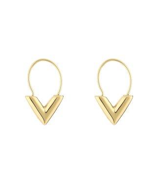 Little V Earrings