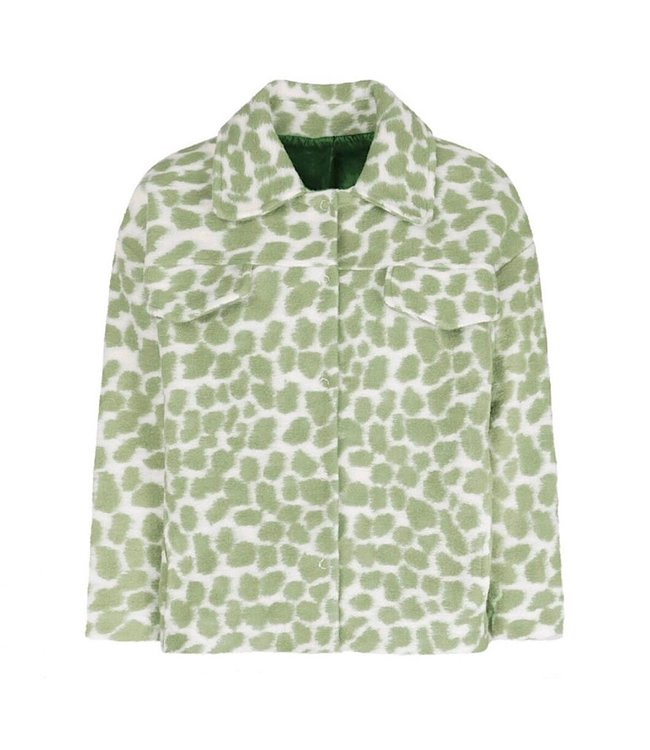 Bambi Animal Print Jacket