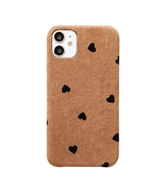 Hearts Rib Phone Case