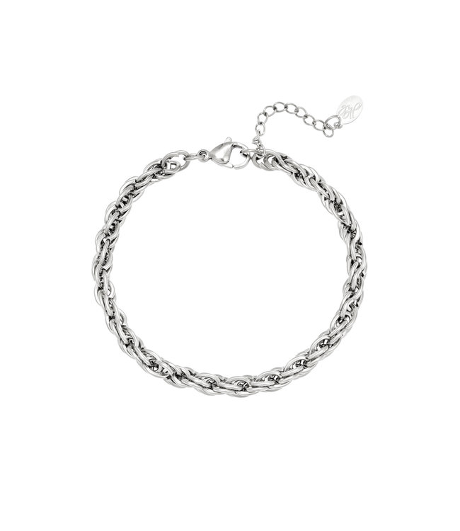 Silver Twistle it Bracelet