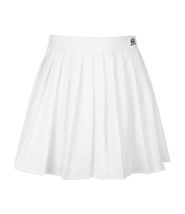 Basic Folds Skirt / White