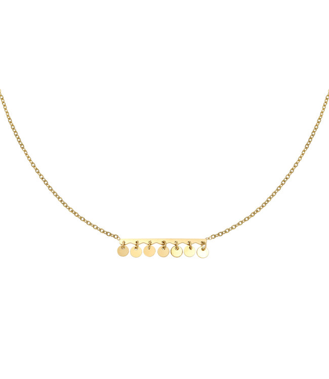 Confetti  Coins Necklace
