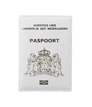 White Passport Cover