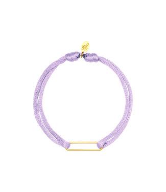 Satin Clip Bracelet