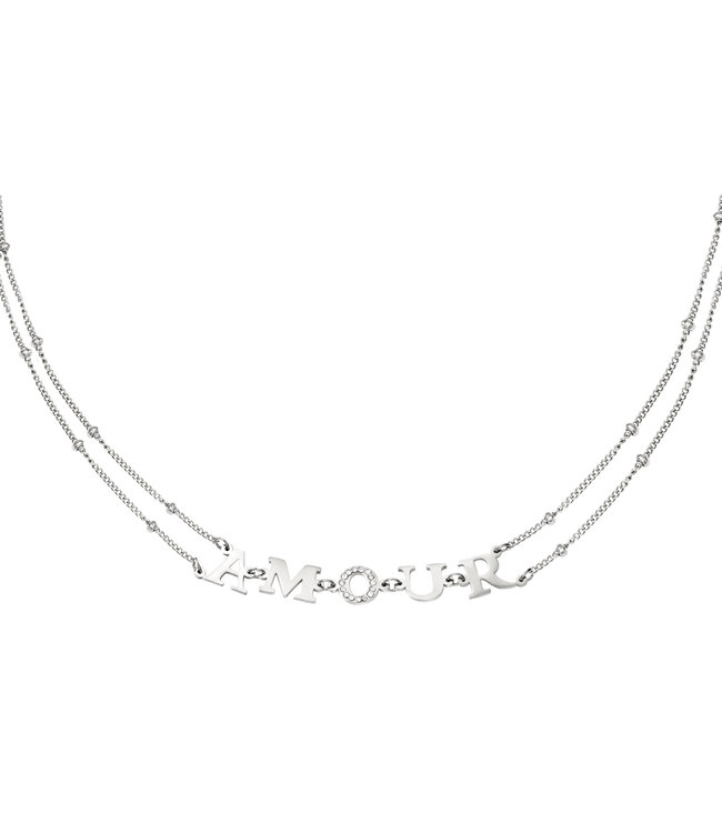 Amour Link Necklace