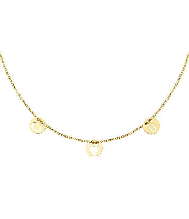 Eye Love U Necklace