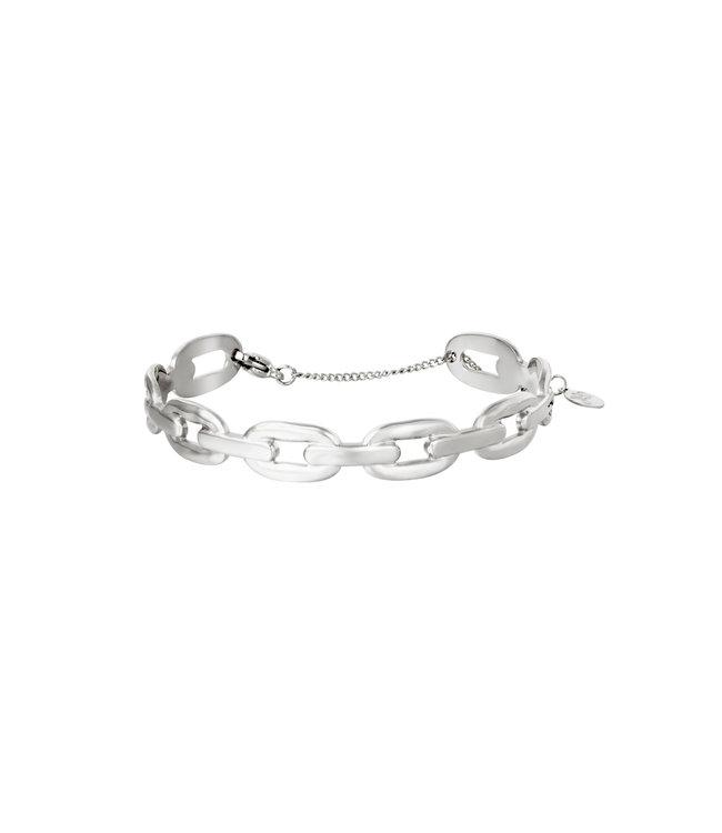 Bangle Oval Chain Bracelet