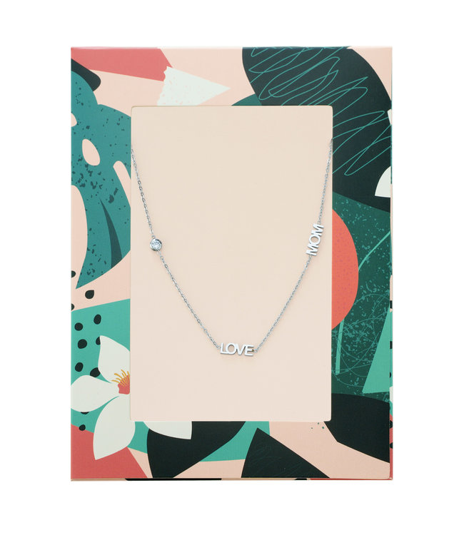 Love Mom Necklace Giftcard