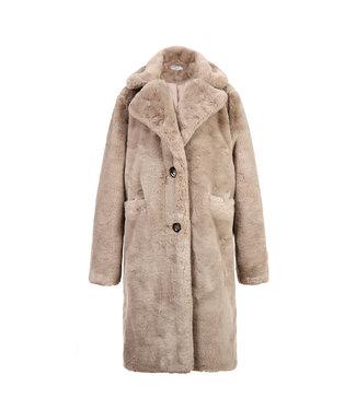 Teddy Coat / Taupe