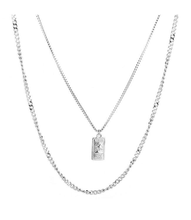 Venus Card Necklace
