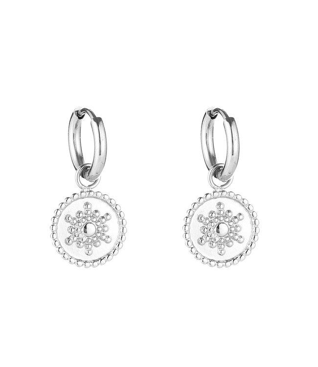 Sunny Coin Earrings