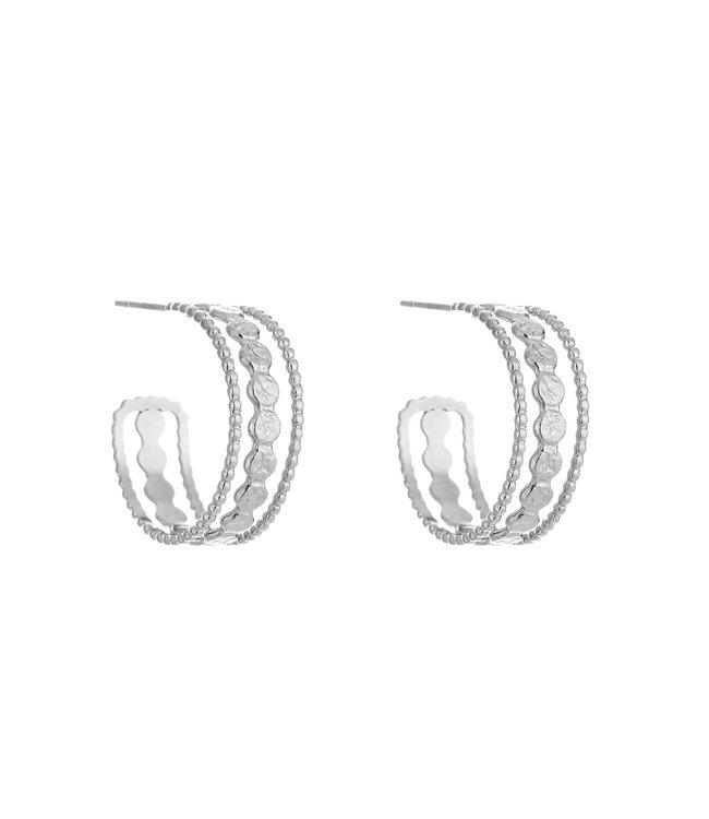 Izzy Hoops Earrings