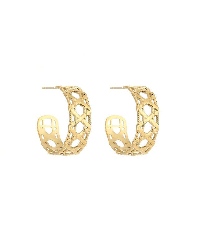 Florance Hoops Earrings