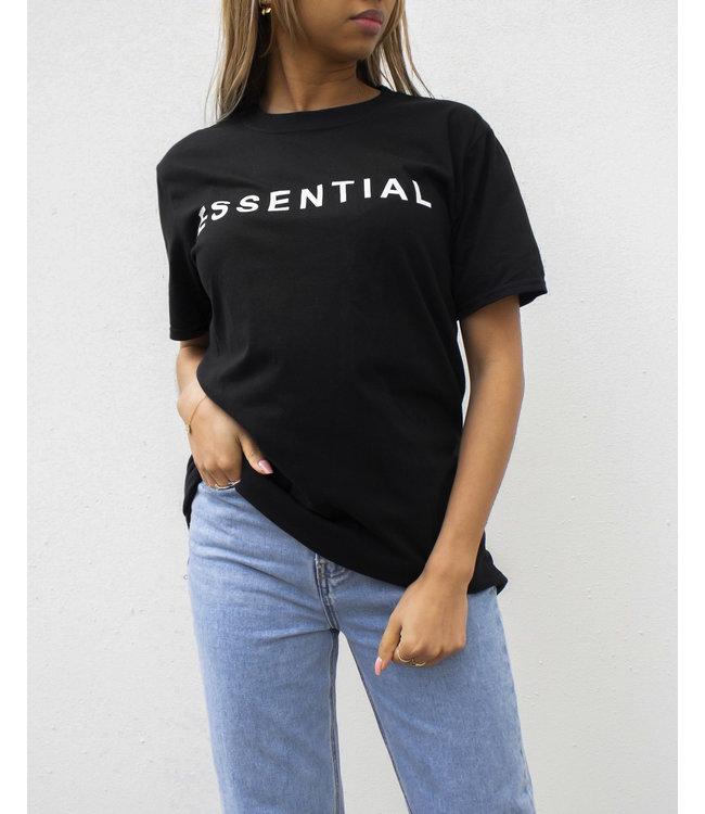Essential Tee / Black