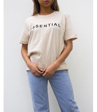 Essential Tee / Beige