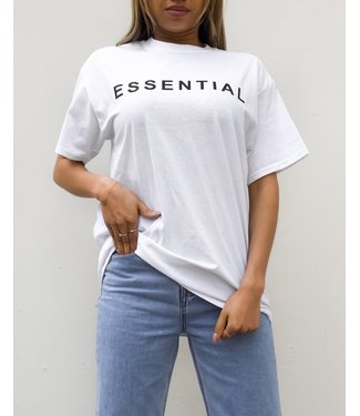 Essential Tee / White