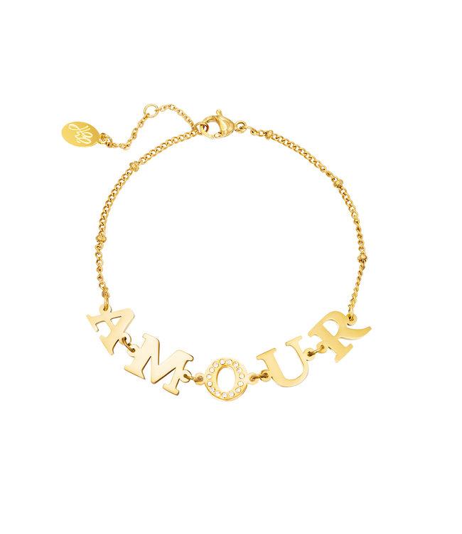 Amour Link Bracelet