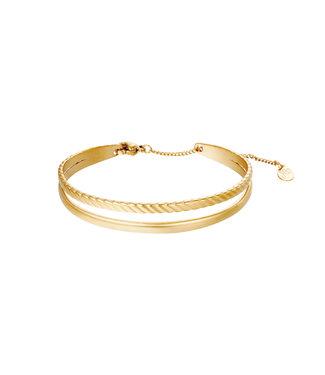Bangle Double Layer Bracelet