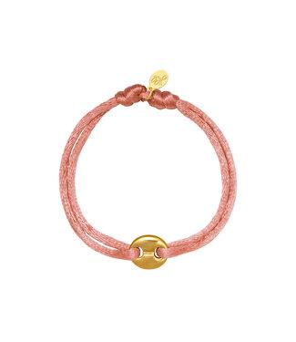Satin Disk Bracelet