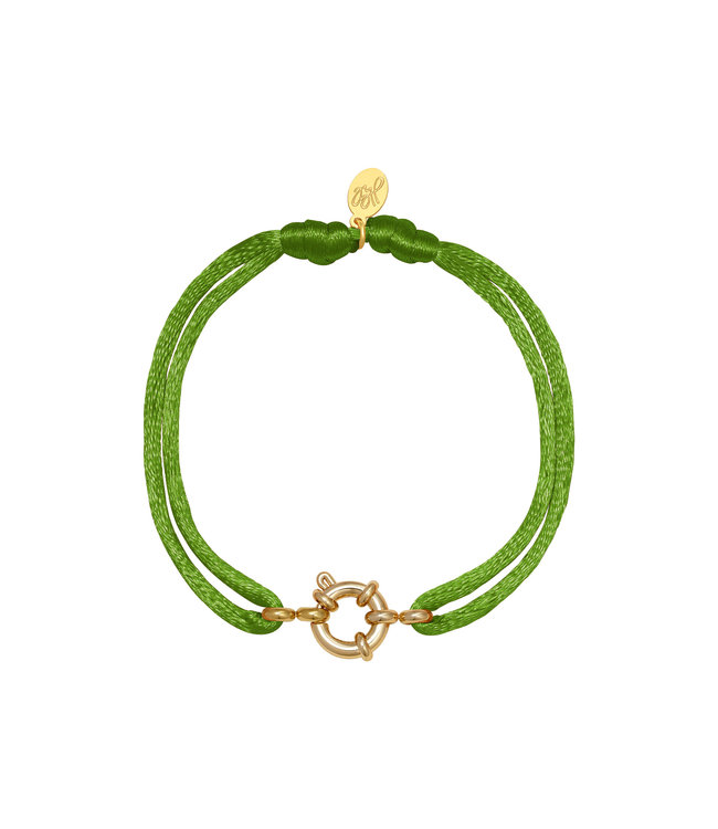 Satin Wheel Bracelet