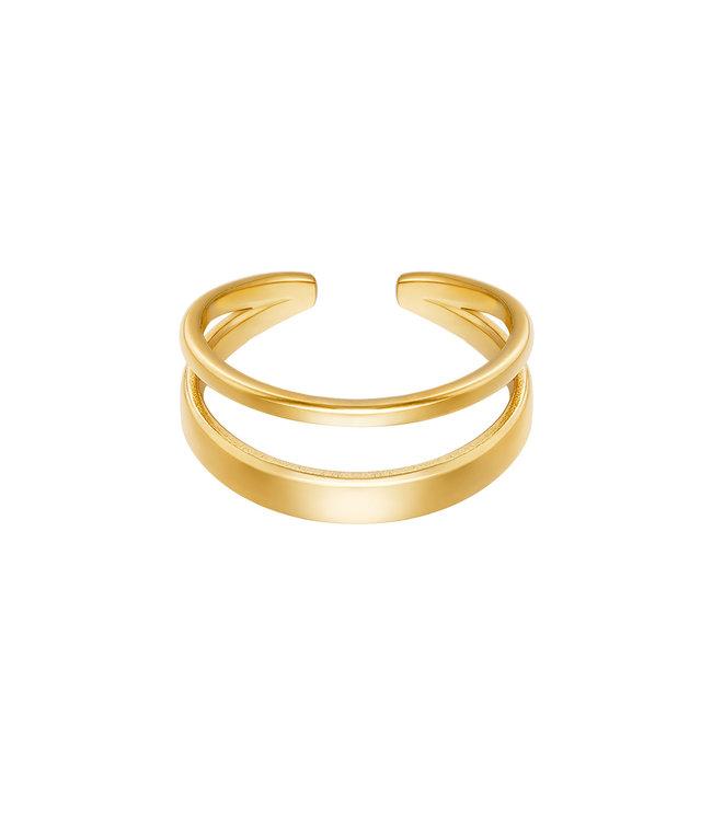 Luna Layer Ring
