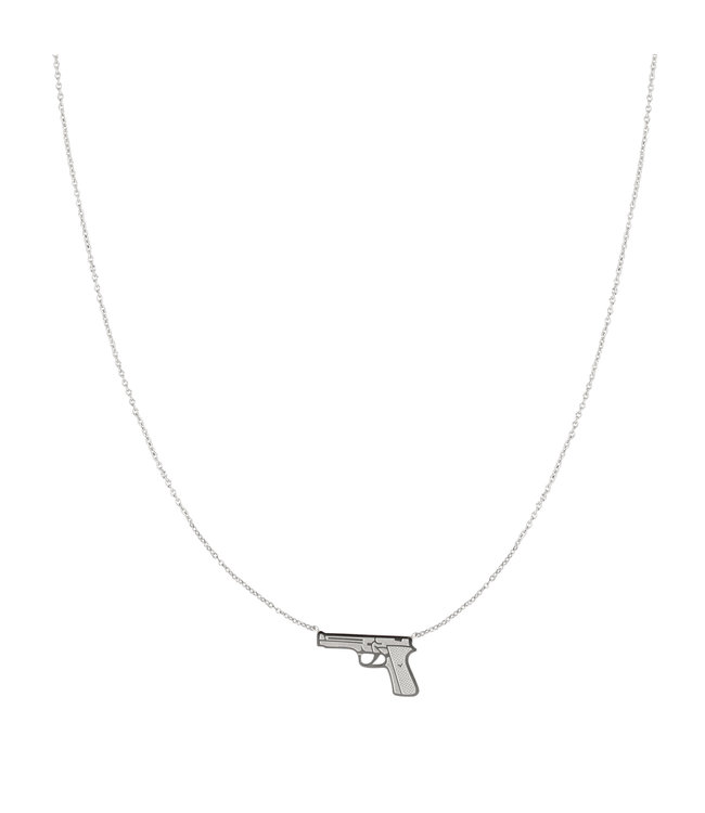 Silver Dress to Kill Necklace