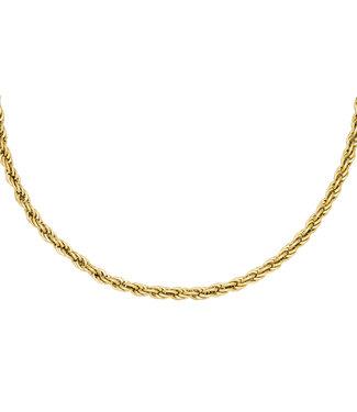 Gold Twistle It Necklace