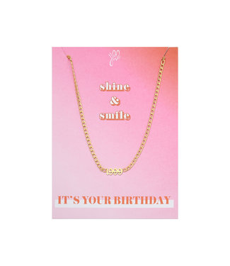 It's Your Day Necklace Giftcard