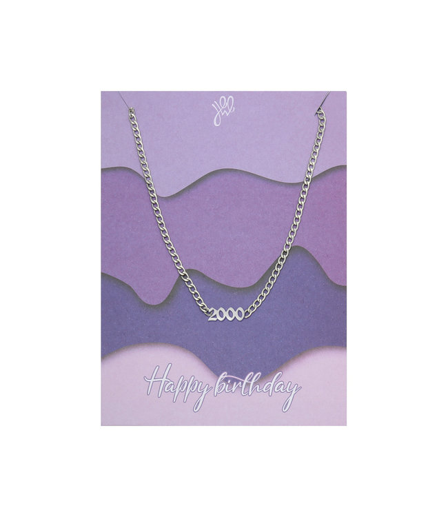 Happy Birthday Necklace Giftcard