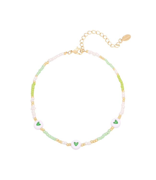 Heart Colors Anklet