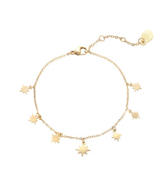 Counting Stars Anklet