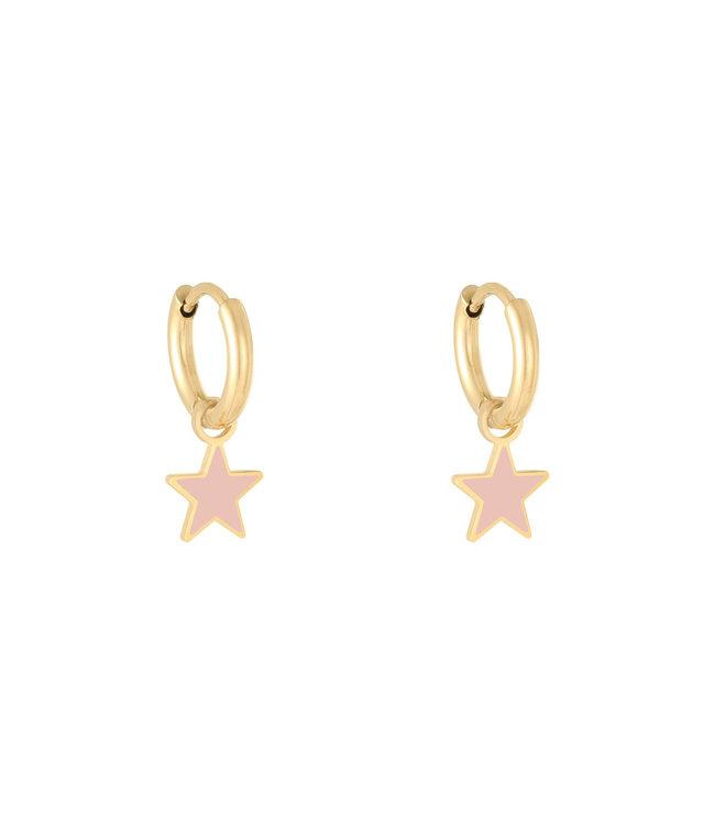 Colorful Star Earrings
