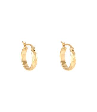 Creole Diamond Earrings