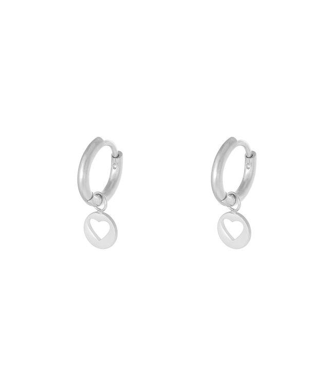 Starry Heart Earrings