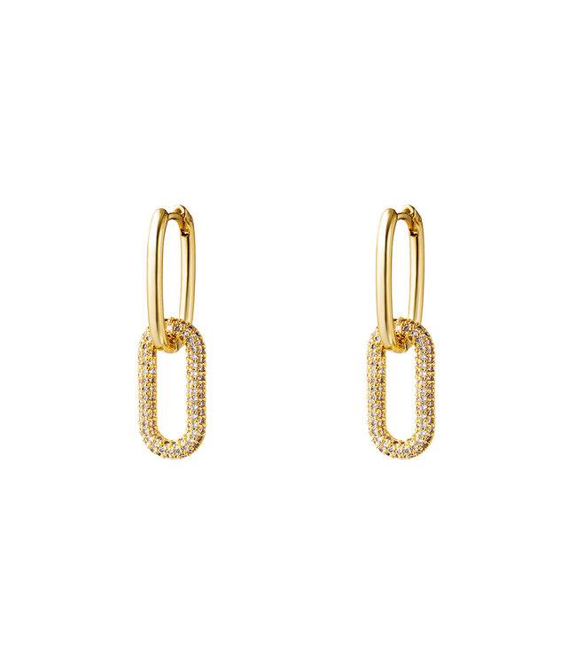 Shiny Chain Earrings