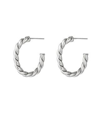 Rope Hoops Earrings