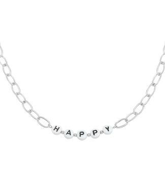 Beads Happy Necklace