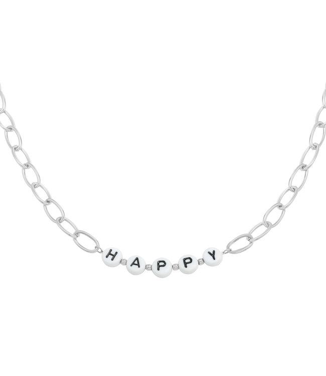 Beads Happy Necklace