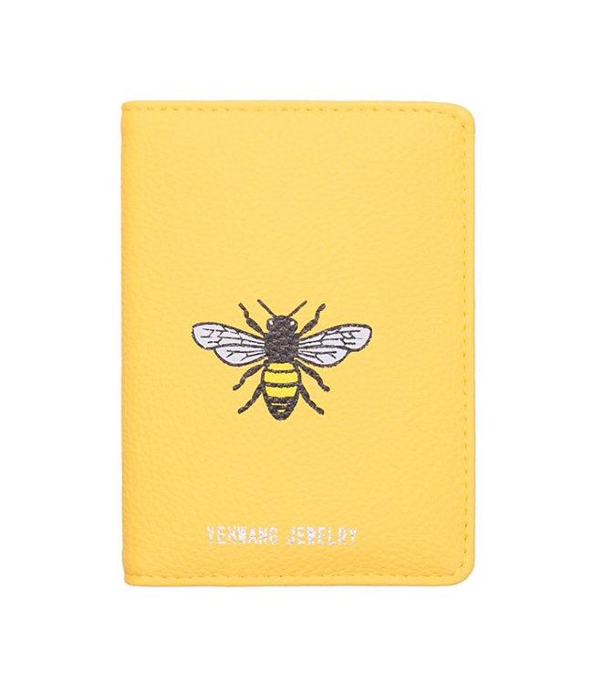Bee Free Passport Cover