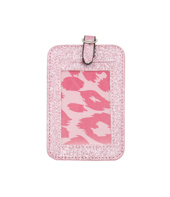 Glitter Suitcase Hanger / Pink