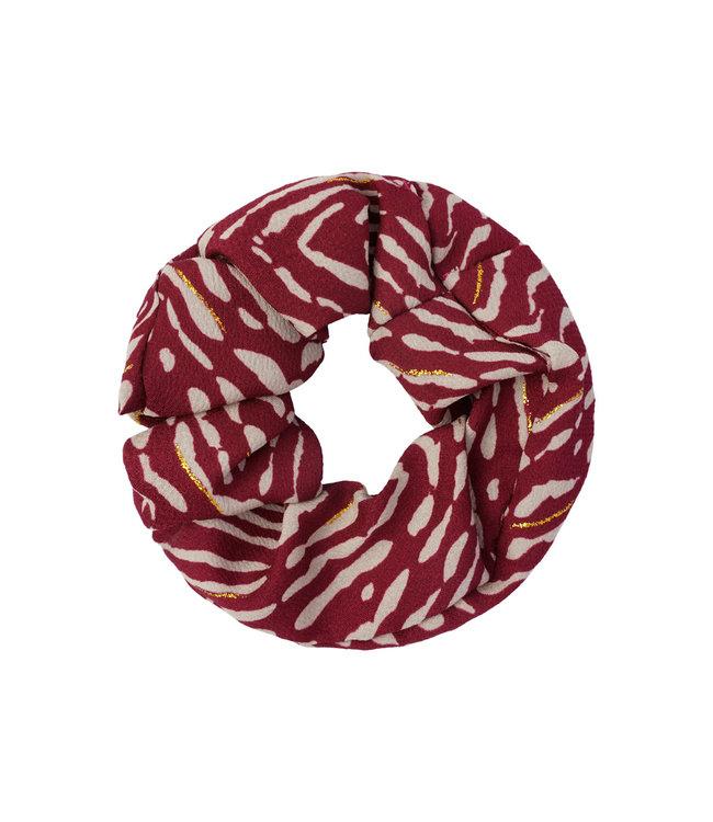 Animal Fever Scrunchie / Red